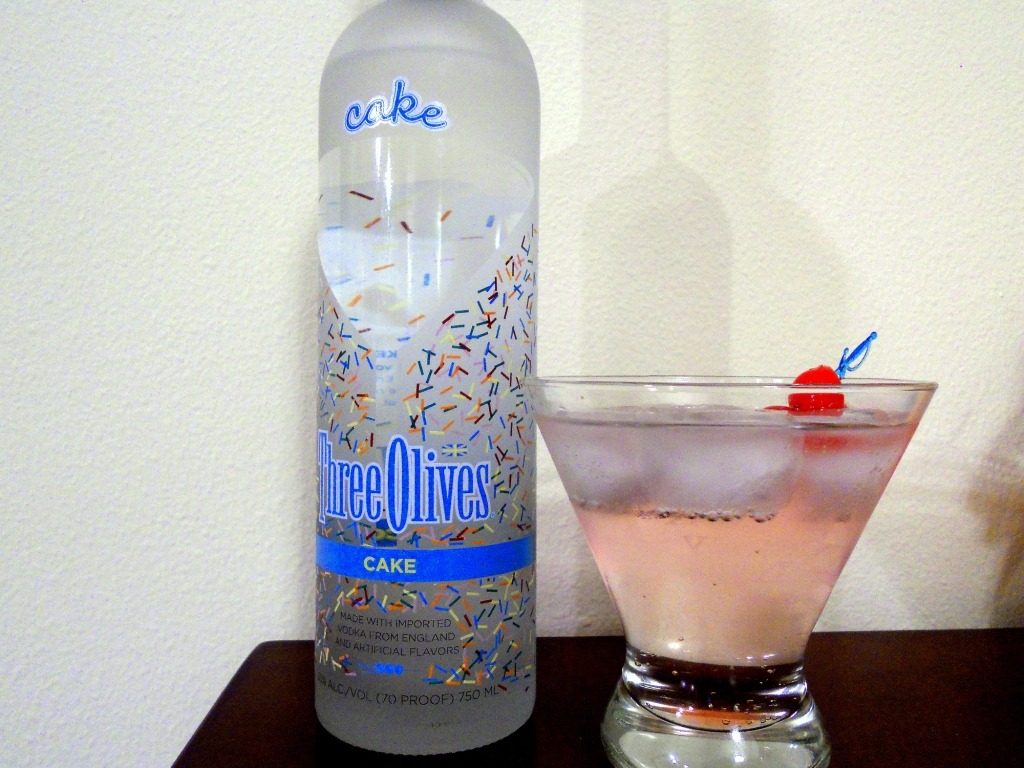 Drinks To Make With Three Olives Cake Vodka