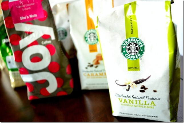 vanilla flavored starbucks coffee